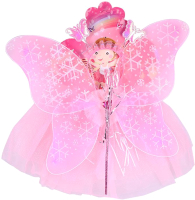 Набор карнавальный Darvish Бабочка 4 / DV-T-1723 (юбочка, волшебная палочка, ободок, крылышки) -