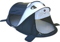 Детская игровая палатка Фея Порядка Панда / CT-110 (белый/черный) -