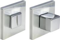 Фиксатор дверной защелки Morelli MH-WС-S6 SC (матовый хром) -