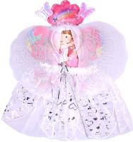 Набор карнавальный Darvish Фея 4 / DV-T-1719 (юбочка, волшебная палочка, ободок, крылышки) -