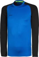 Лонгслив спортивный 2K Sport Performance / 121131 (M, синий/черный) -