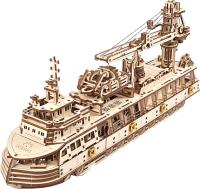 Сборная модель Ugears Научно-исследовательское судно / 70135 -