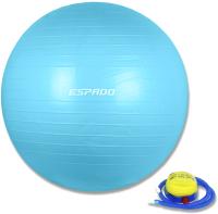 Фитбол гладкий Espado ES2111 (65см, голубой) -