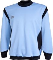Лонгслив спортивный детский 2K Sport Vettore / 111135 (134, голубой/черный) -