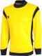 Лонгслив спортивный 2K Sport Vettore / 111135 (XXXL, желтый/черный) -