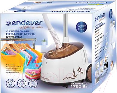 Отпариватель Endever Odyssey Q-307 (белый/коричневый)