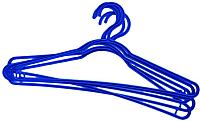 Набор вешалок-плечиков York Стандарт 5шт (синий) -