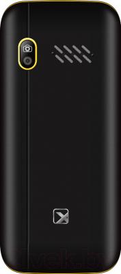 Мобильный телефон Texet TM-517R (черный/желтый)