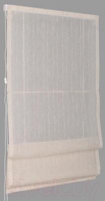 Римская штора Delfa Мини Naturel СШД-01М-104/002 (57x160, молочный)