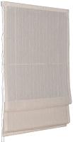 Римская штора Delfa Мини Naturel СШД-01М-104/003 (52x160, лен) -