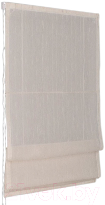 Римская штора Delfa Мини Naturel СШД-01М-104/003 (52x160, лен)