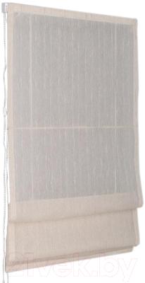 Римская штора Delfa Мини Naturel СШД-01М-104/002 (81x160, молочный)