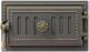 Дверца печная Везувий Поддувальная 236 (бронза) -
