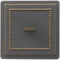 Дверца печная Везувий Прочистная 237 (бронза)