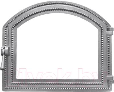 Дверца печная Везувий 217 (неокрашенная, без стекла)