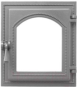 Дверца печная Везувий 220 (неокрашенная, без стекла)