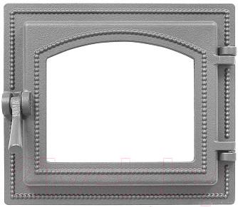 Дверца печная Везувий 260 (неокрашенная, без стекла)