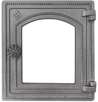 Дверца печная Везувий ДТ-4С (неокрашенная, без стекла)