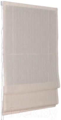 Римская штора Delfa Мини Naturel СШД-01М-104/003 (57x160, лен)