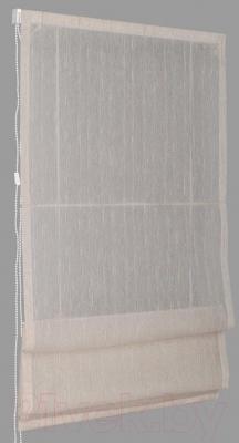 Римская штора Delfa Мини Naturel СШД-01М-104/003 (81x160, лен)