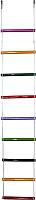 Лестница веревочная Формула здоровья ЕКБ ЛВ9-3А-15 (9 перекладин, радуга) -