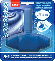 Чистящее средство для унитаза Sano Sanobon Blue (55г) -