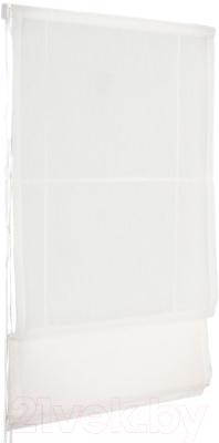 Римская штора Delfa Мини Natali СШД-01М-114/002 (52x160, молочный)