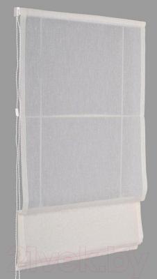Римская штора Delfa Мини Natali СШД-01М-114/002 (57x160, молочный)