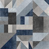 Плитка Argenta Core Decor Сold (600x600, синий) -