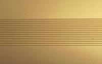 Порог Пластал Д9 КЕ 135 (золото) -