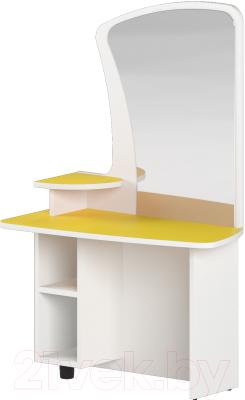 Стол для детского сада Славянская столица ДУ-СИ9 (белый/желтый)