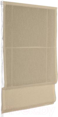 Римская штора Delfa Мини Natali СШД-01М-114/003 (52x160, кофейный)