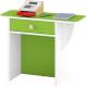 Стол для детского сада Славянская столица ДУ-СМ27 (белый/зеленый) -
