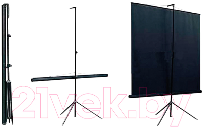Проекционный экран Classic Solution Libra (T 180x180/1 MW-ST/B)