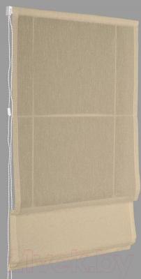 Римская штора Delfa Мини Natali СШД-01М-114/003 (62x160, кофейный)