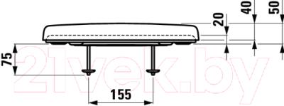 Сиденье для унитаза Laufen Pro 8939580000001
