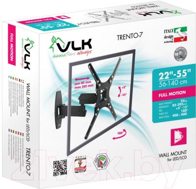 Кронштейн для телевизора VLK Trento-7 (черный)