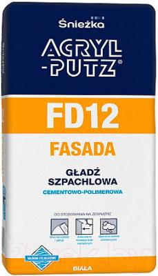 Шпатлевка Sniezka Acryl Putz FD12 Фасад (20кг)