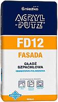 Шпатлевка Sniezka Acryl Putz FD12 Фасад (5кг) -
