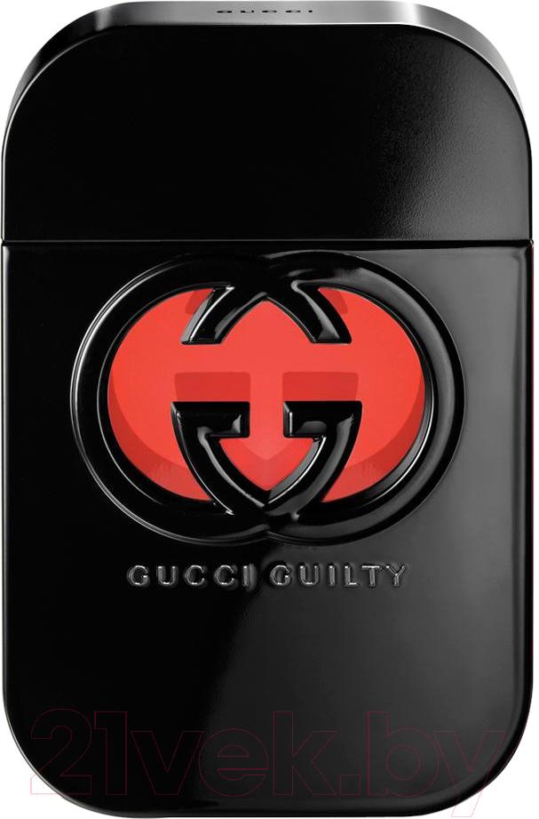 Купить Туалетная вода Gucci, Guilty Black Pour Femme (75мл), Швейцария, Guilty (Gucci)