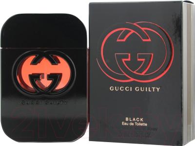 Туалетная вода Gucci Guilty Black Pour Femme (75мл)
