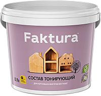Защитно-декоративный состав Ярославские краски Faktura (900мл, орегон) -