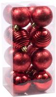 Набор шаров новогодних Белбогемия 27629776 / 96430 (16шт) -