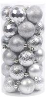 Набор шаров новогодних Белбогемия 27629619 / 96435 (30шт) -