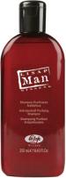 Шампунь для волос Lisap Man Очищающий против перхоти (250мл) -