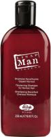 Шампунь для волос Lisap Man Уплотняющий для нормальных волос (250мл) -