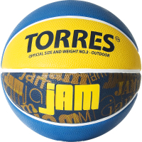 Баскетбольный мяч Torres Jam B02043 (размер 3) -