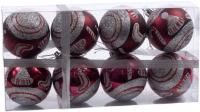 Набор шаров новогодних Белбогемия 27629798 / 96332 (8шт) -