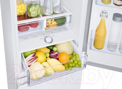 Холодильник с морозильником Samsung RB36T604FWW/WT