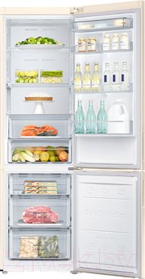 Холодильник с морозильником Samsung RB37A5470EL/WT